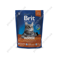 Brit Premium Cat Indoor 300 g для кошек живущих в помещении