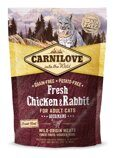 Carnilove Fresh Chicken & Rabbit Gourmand for Adult cats 400g  курица,кролик для котов