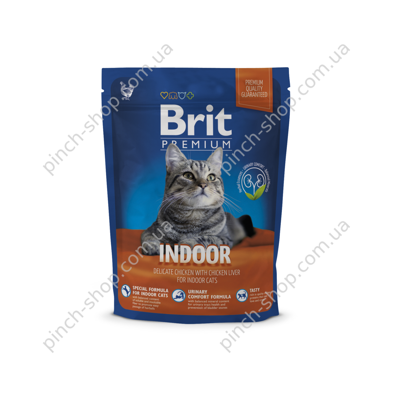 Brit Premium Cat Indoor 800 g для кошек живущих в помещении