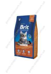 Brit Premium Cat Indoor 1,5 kg для кошек живущих в помещении